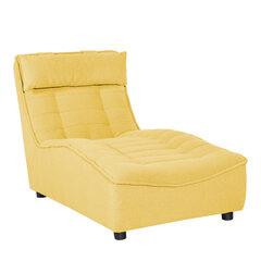 Krēsls Concord, 87x72x152 cm, dzeltens
