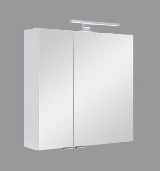 Sienas vannas istabas skapis Fabian, 70x68x16 cm, balts
