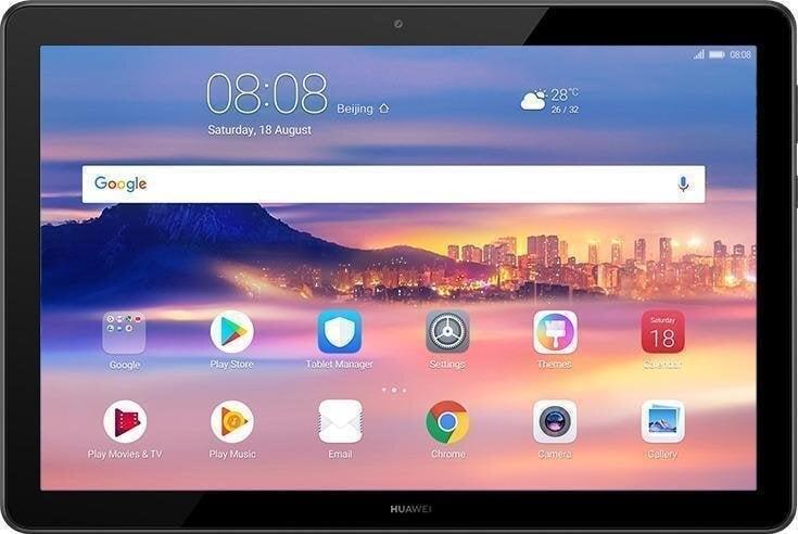 Huawei MediaPad T5, 16GB, 4G, melns