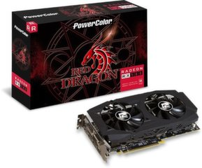 Power Color Radeon RX 580 Red Dragon V2 8GB GDDR5 (256 bit), DVI-D, HDMI, 3xDisplayPort, BOX (AXRX580 8GBD5-3DHDV2 / OC)