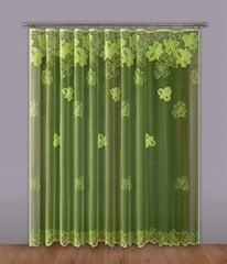 Aizkars Green 300x250 cm cena un informācija | Aizkari | 220.lv