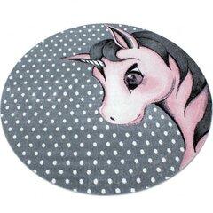 Bērnu paklājs Kids Pink 0590, 120x120 cm