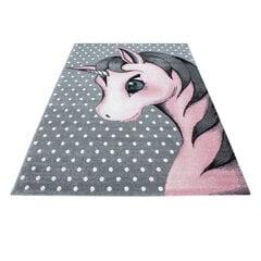 Bērnu paklājs Kids Pink 0590, 160x230 cm