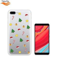TakeMe чехол для телефона Xiaomi Redmi S2, Christmas