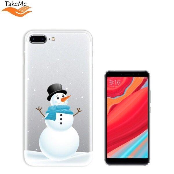TakeMe telefona maciņš piemērots Xiaomi Redmi S2, Snowman
