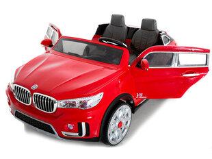 """Bērnu divvietīgā elektriskā automašīna """"BMW X7"""" + tālvadības pults 2,4, sarkana"""