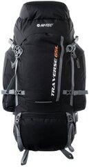 Tūrisma mugursoma Hi-Tec Traverse, 65 l, melna цена и информация | Туристические, походные рюкзаки | 220.lv