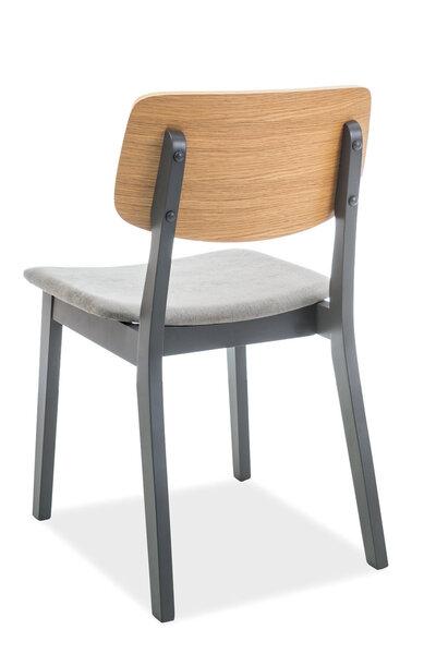 2 krēslu komplekts Benito, pelēks cena