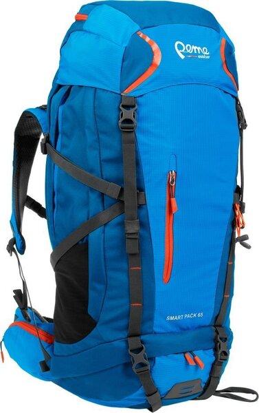 Tūrisma mugursoma Peme Smart Pack, 65 l, zila
