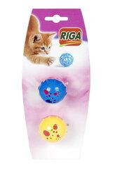 Bumbiņas ar zvaniņu kaķiem, 2 gab.