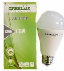 LED spuldze A60 15W E27 4000K 220-240V Greelux cena un informācija | Spuldzes | 220.lv