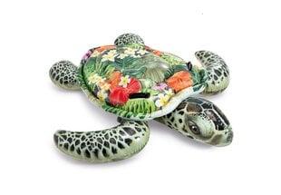 Piepūšamais plosts Intex Realistic Sea Turtle, 1.91 m x 1.70 m cena un informācija | Piepūšamās rotaļlietas un pludmales preces | 220.lv