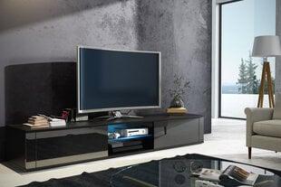 RTV столик Hit, черный цена и информация | Столики под телевизоры | 220.lv
