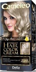 Noturīga matu krāsa Delia Cameleo Omega +, 8.1 Light Ash Blond cena un informācija | Matu krāsas | 220.lv