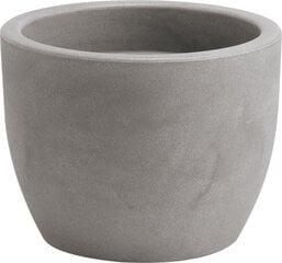 Горшок Nicoli Hera 50, серый цена и информация | Ящики для рассады | 220.lv