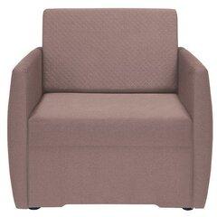 Krēsls Ola II 1FBK, rozā cena un informācija | Dīvāni un krēsli | 220.lv