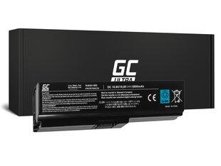 Green Cell Ultra Laptop Akumulators piemērots Toshiba Satellite C650 C650D C660 C660D L650D L655 L750 6800mAh