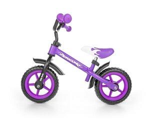 Balans velosipēds Milly Mally Dragon, 4829, violets