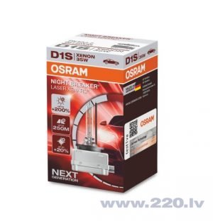 Osram Night Breaker Laser D1S Next Generation +200%