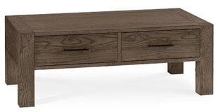 Kafijas galdiņš Turin, 110 cm, brūns цена и информация | Кофейные столики | 220.lv