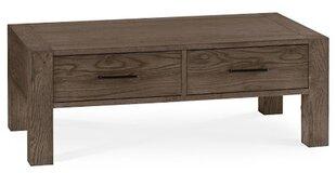 Kafijas galdiņš Turin, 110 cm, brūns
