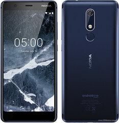 Nokia 5.1, 16 GB, Dual SIM, Mėlyna