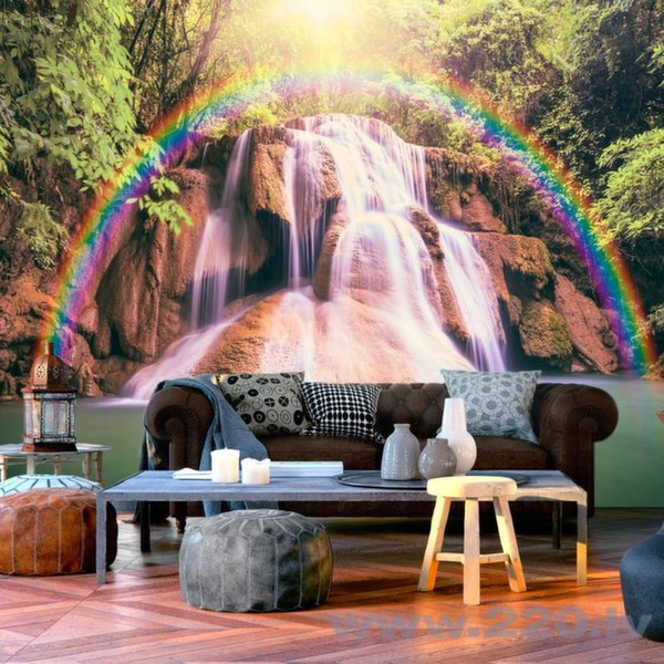 Foto tapete - Magical Waterfall
