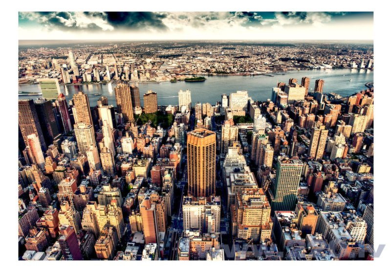 Foto tapete - Bird's Eye View of New York