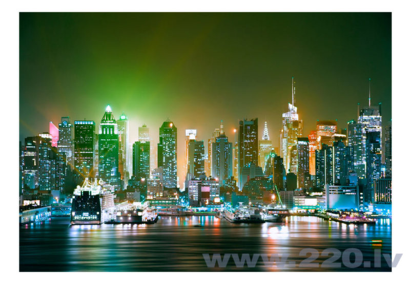 Foto tapete - NY: Enlightened Harbour