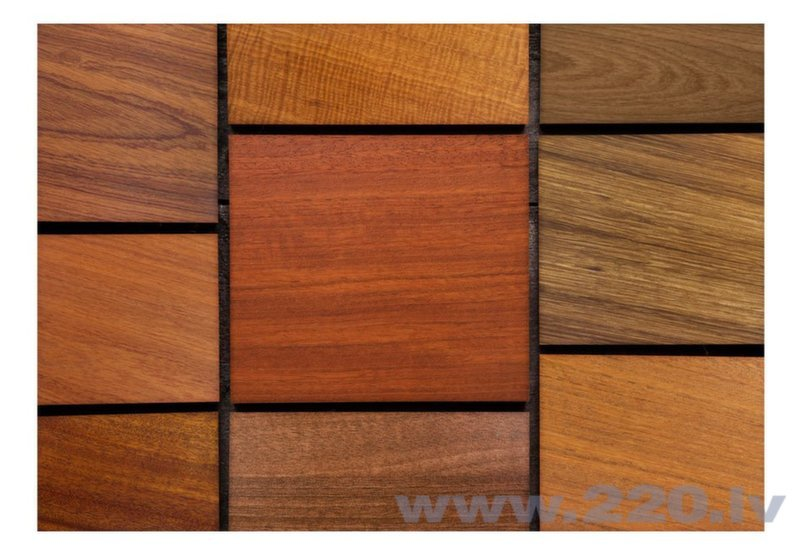 Foto tapete - Wooden cubes