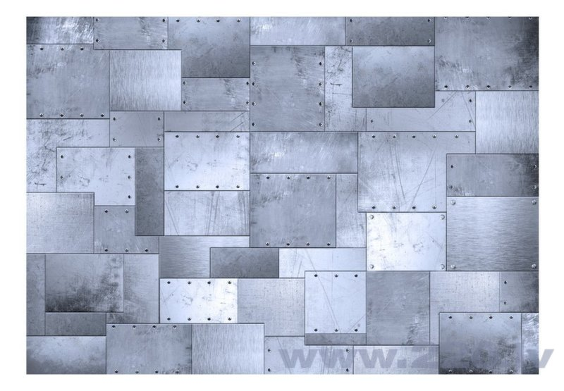 Foto tapete - Industrial mosaic