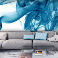 Foto tapete - Blue smoke
