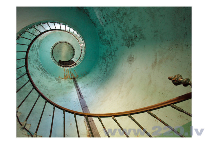 Foto tapete - Lighthouse - Stairs cena