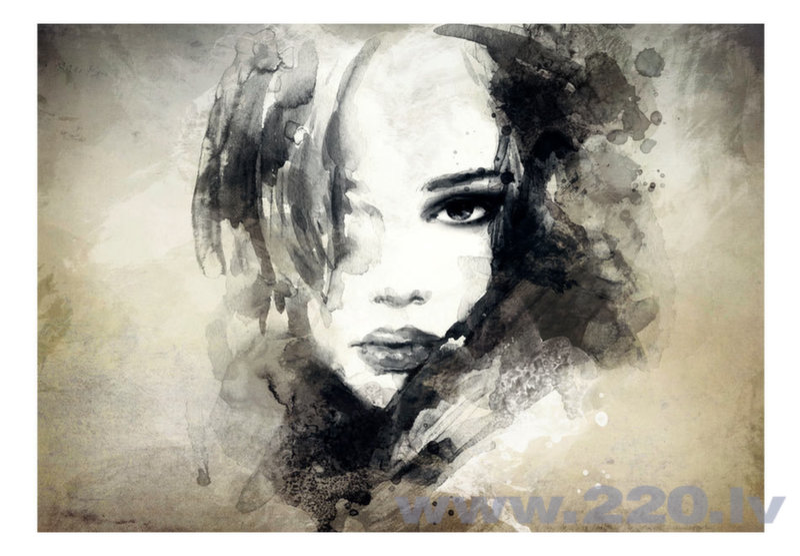 Foto tapete - Mysterious Girl atsauksme