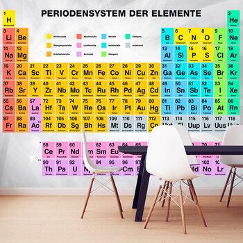 Foto tapete - Periodensystem der Elemente cena un informācija | Fototapetes | 220.lv
