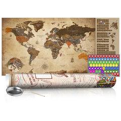 Nokasāma karte - Vintage Map - Poster (English Edition)