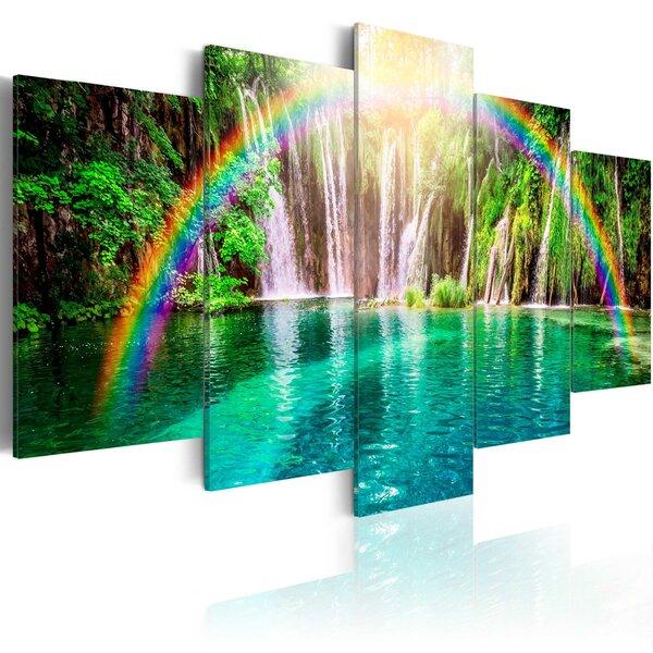 Glezna - Rainbow time cena un informācija   Gleznas   220.lv