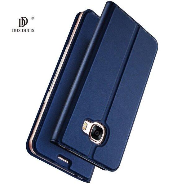 Dux Ducis Premium Magnet Case, piemērots Huawei P30 Lite, zils lētāk
