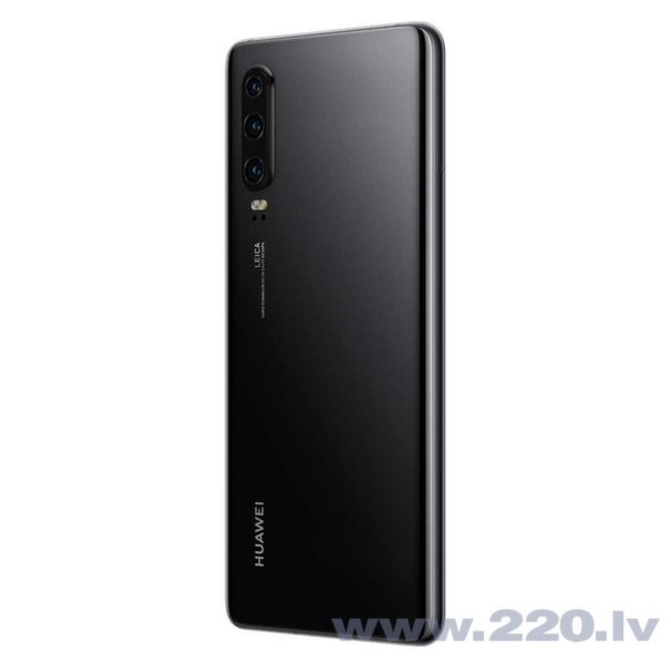 Huawei P30, 128 GB, Melns