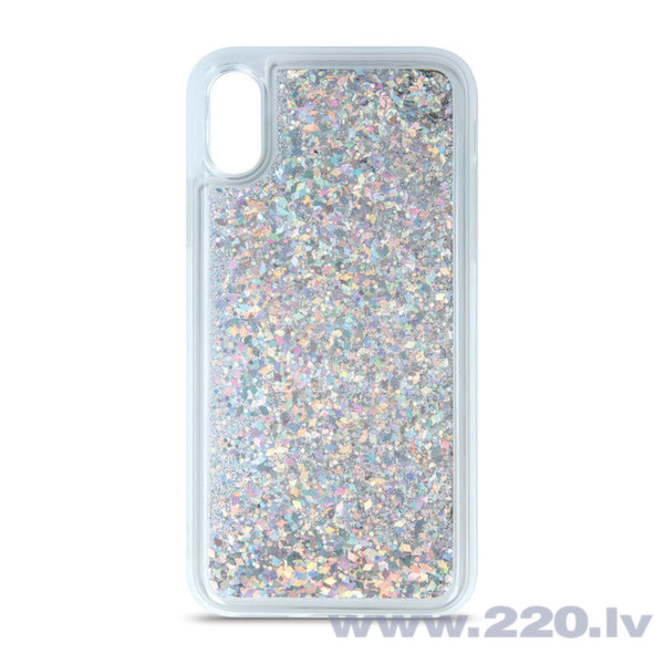Liquid Sparkle TPU case for Huawei P30 silver