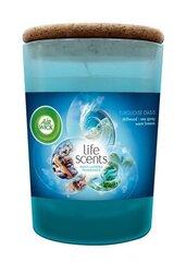 Air Wick aromātiskā svece Turquoise Oasis, 185 g