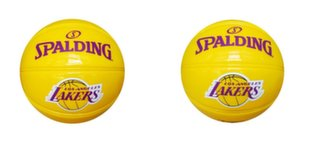 Basketbola bumba Spalding NBA Team Lakers, 1,5 izmērs