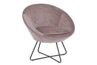 Krēsls Center, rozā/melns cena un informācija | Krēsli viesistabai | 220.lv