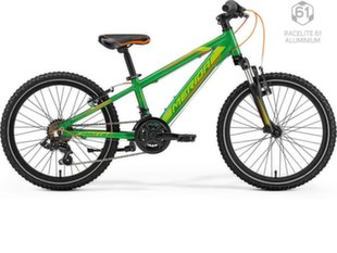 "Bērnu velosipēds Merida MATTS J 20"" 2019, zaļš"