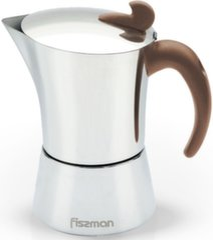 Fissman гейзерная кофеварка Espresso 240 мл