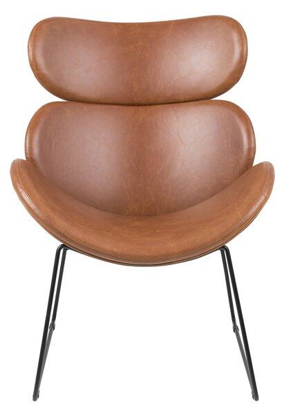 Krēsls Cazar, brūns/melns internetā