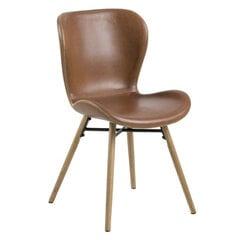 2-u krēslu komplekts Batilda, brūns
