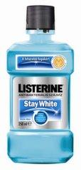 Mutes skalošanas šķidrums Listerine Stay White 250 ml