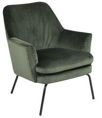 Krēsls Chisa Vic, zaļš/melns
