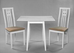 Столовый комплект Avola/Monza, белый/коричневый цена и информация | Комплекты мебели для столовой | 220.lv